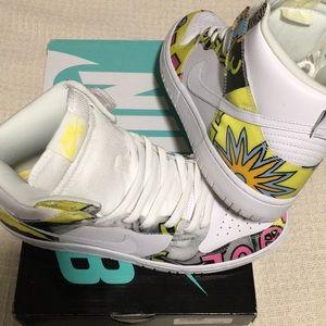 """Nike SB Dunk High """"DLS"""" De La Soul QS"""